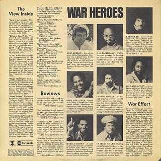 War feat. Eric Burdon / Love Is All Around back