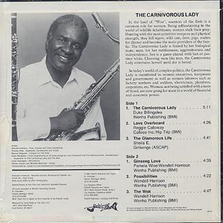 Wendell Harrison / The Carnivorous Lady back