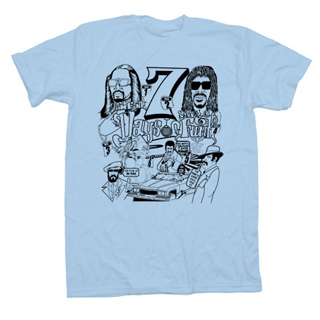 7 Days of Funk T-Shirts (Blue / L) front