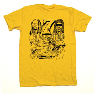 7 Days of Funk T-Shirts (Yellow / M) front