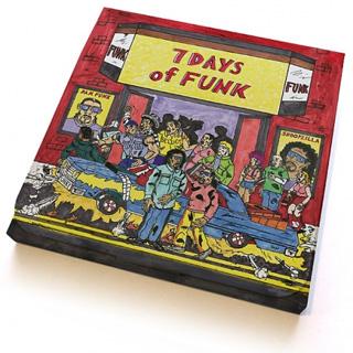 7 Days Of Funk (Dam-Funk & Snoopzilla) / 7 Days Of Funk (45 Box Set)