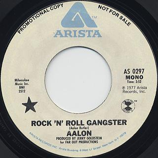 Aalon / Rock'n Roll Gangster back