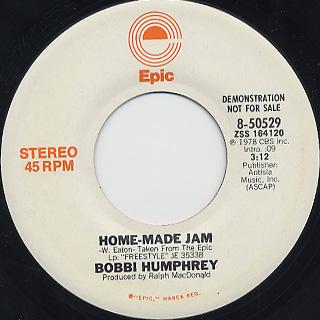 Bobbi Humphrey / Home-Made Jam