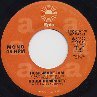 Bobbi Humphrey / Home-Made Jam back