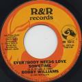 Bobby Williams / Everybody Needs Love Sometime
