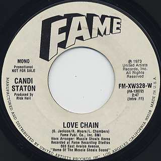 Candi Staton / Love Chain back