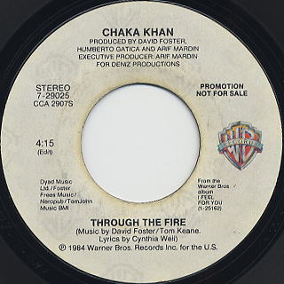 Chaka Khan / Through The Fire