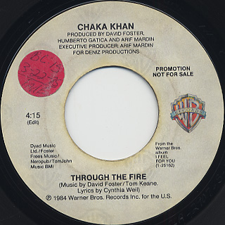 Chaka Khan / Through The Fire back