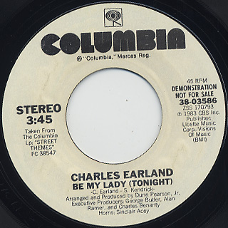 Charles Earland / Be My Lady (Tonight) front
