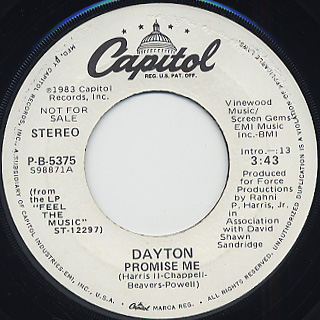 Dayton / Promise Me