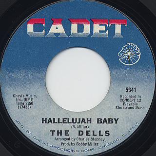 Dells / I Can Sing A Rainbow/Love Is Blue back