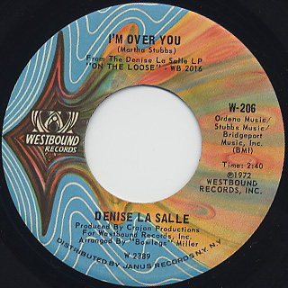 Denise LaSalle / A Man Size Job back