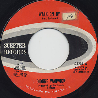 Dionne Warwick / Walk On By