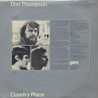 Don Thompson / Country Place back