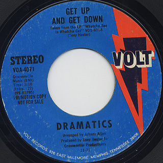 Dramatics / Get Up And Get Down