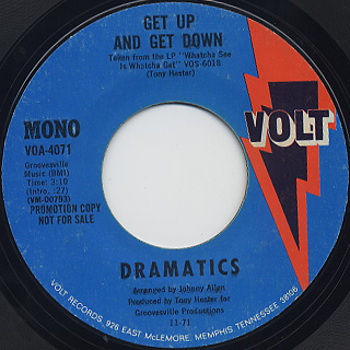 Dramatics / Get Up And Get Down back