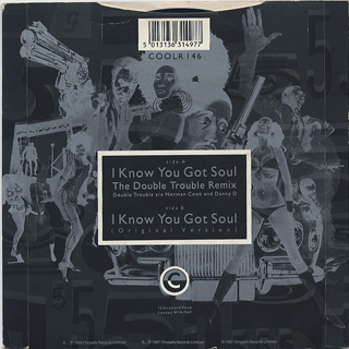 Eric B. & Rakim / I Know You Got Soul (Double Trouble Remix) c/w (Org. Ver) back