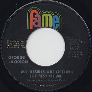 George Jackson / Find 'Em, Fool 'Em And Forget 'Em back