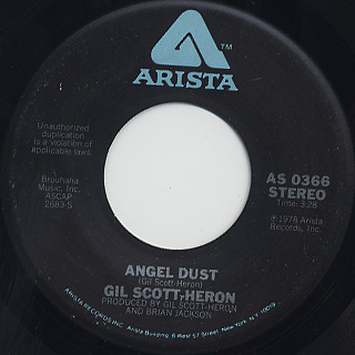 Gil Scott Heron / Angel Dust