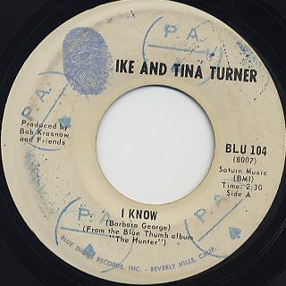 Ike & Tina Turner / Bold Soul Sister back