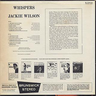 Jackie Wilson / Whispers back