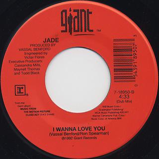 Jade / I Wanna Love You back