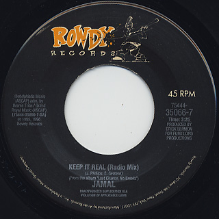 Jamal / Keep It Real c/w Fades Em All front