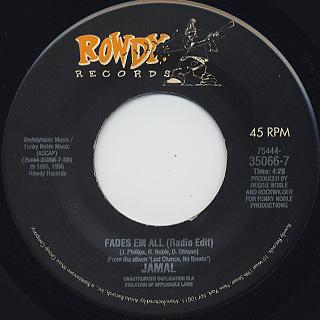 Jamal / Keep It Real c/w Fades Em All back