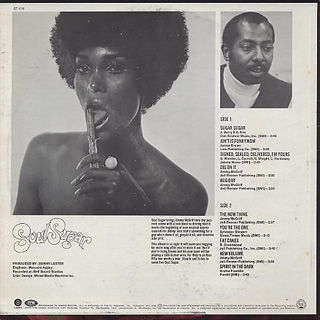 Jimmy McGriff / Soul Sugar back