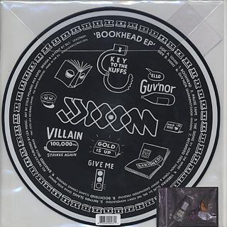 JJ Doom / BOOKHEAD EP back