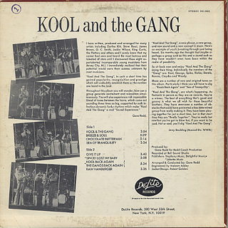 Kool and The Gang / S.T. back