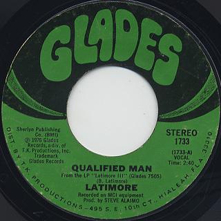 Latimore / Qualified Man