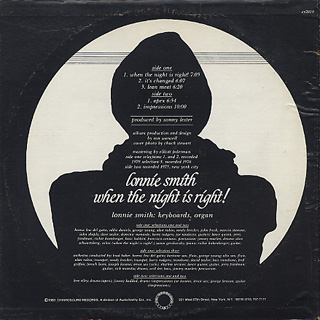 Lonnie Smith / When The Night Is Right back