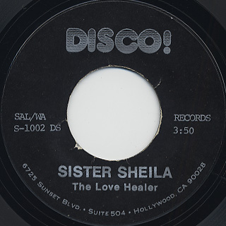 Love Healer / Sister Sheila