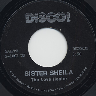 Love Healer / Sister Sheila back