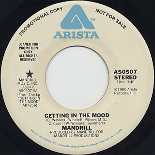Mandrill / Getting In The Mood (45)