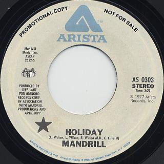 Mandrill / Holiday