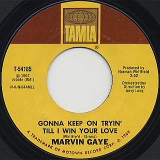 Marvin Gaye / That's The Way Love Is back