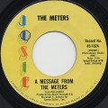 Meters / A Message From The Meters c/w Zony Mash