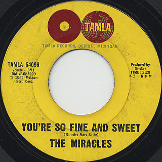 Miracles / I Like It Like That back