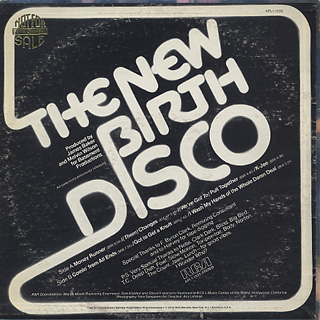 New Birth / New Birth Disco back