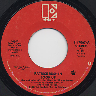 Patrice Rushen / Look Up front