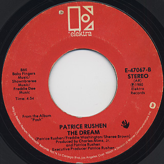 Patrice Rushen / Look Up back