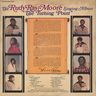 Rudy Ray Moore / The Turning Point back