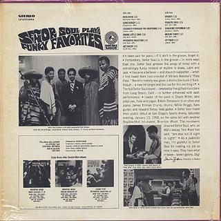 Senor Soul / Plays Funky Favorites back