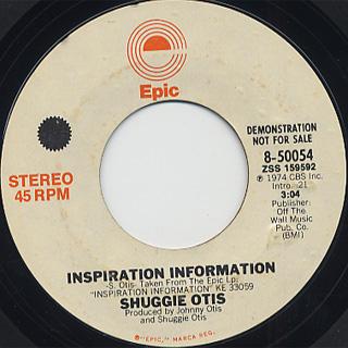 Suggie Otis / Inspiration Information