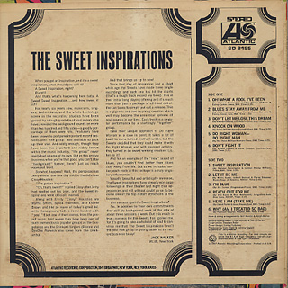 Sweet Inspirations / S.T. back