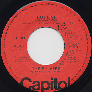 Sylvers / That's What Love Is Made Of back