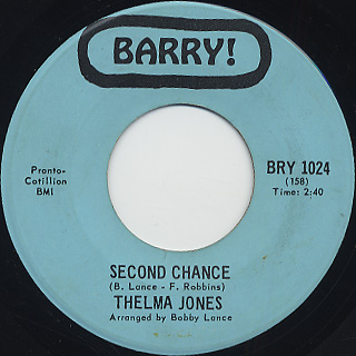 Thelma Jones / Second Chance