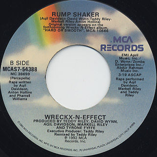 Wreckx-N-Effect / Rump Shaker back